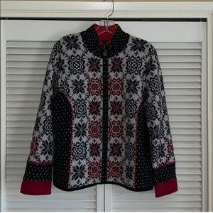 Icelandic Design Zippered Sweater
